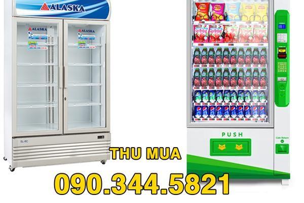 Thu mua tủ cấp đông, tủ mát cánh kính, máy bán hàng tự động giá cao tại Hà Nội ảnh 1