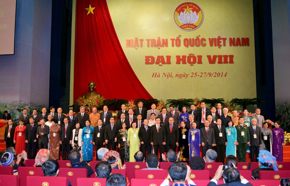 Bế mạc Đại hội đại biểu toàn quốc MTTQ Việt Nam lần thứ VIII ảnh 2