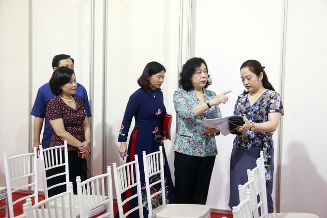 Hà Nội: Thường trực Thành ủy kiểm tra công tác phục vụ Đại hội Đảng bộ thành phố ảnh 4