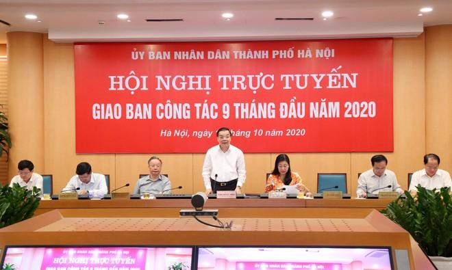 Chủ tịch UBND TP Hà Nội: Tháo gỡ, giải quyết kịp thời kiến nghị xác đáng của các quận, huyện ảnh 1
