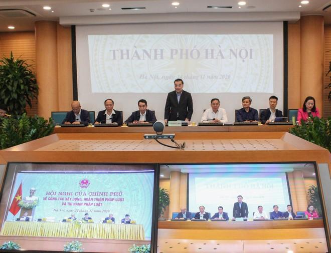 Chủ tịch UBND TP Hà Nội: Thể chế đi trước, mở đường cho đột phá kinh tế - xã hội ảnh 1
