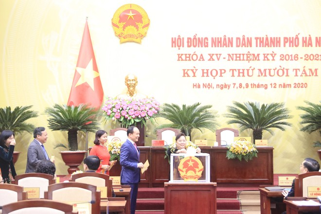 Ông Nguyễn Ngọc Tuấn được bầu giữ chức Chủ tịch HĐND TP Hà Nội ảnh 1