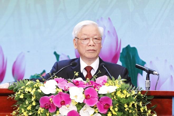 Tổng Bí thư, Chủ tịch nước Nguyễn Phú Trọng: Thi đua là để rèn luyện và xây dựng con người mới ảnh 1
