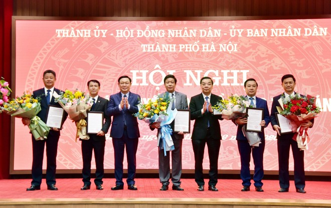 Chi tiết phân công công tác Chủ tịch, các Phó Chủ tịch UBND TP Hà Nội ảnh 1