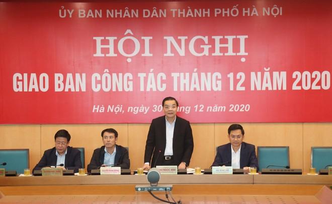 Chủ tịch Hà Nội: Bám sát, giải quyết tận cùng công việc để phục vụ chu đáo nhân dân đón Tết ảnh 2