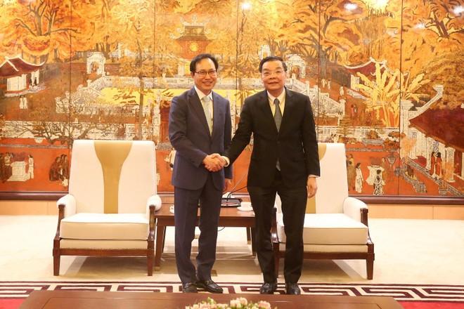 Hà Nội đề nghị Samsung chung tay đưa Thủ đô dẫn đầu cả nước về đổi mới sáng tạo ảnh 1