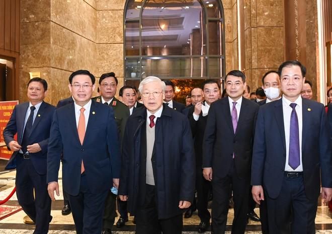Tổng Bí thư, Chủ tịch nước Nguyễn Phú Trọng tặng thơ lục bát chúc Tết Thủ đô Hà Nội ảnh 2