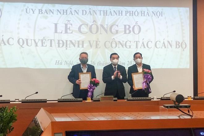 Hà Nội có tân Chánh văn phòng UBND TP và Giám đốc 4 sở ảnh 2