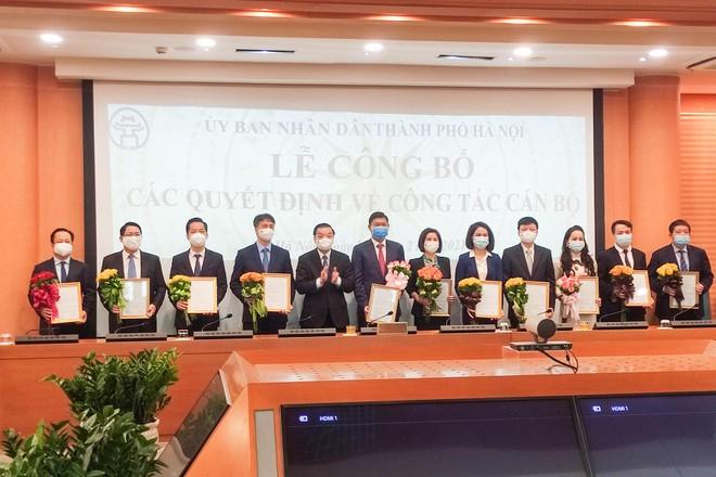 Hà Nội có tân Chánh văn phòng UBND TP và Giám đốc 4 sở ảnh 1