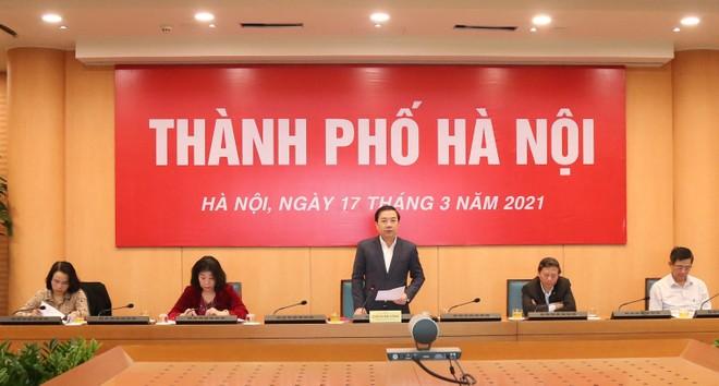 Thủ tướng đánh giá Hà Nội có nhiều biện pháp hiệu quả để thực hiện mục tiêu kép ảnh 1