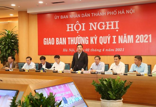 Chủ tịch UBND TP Hà Nội: Phải làm tốt từng việc nhỏ ở cơ sở, đón đầu cơ hội đầu tư mới... ảnh 1