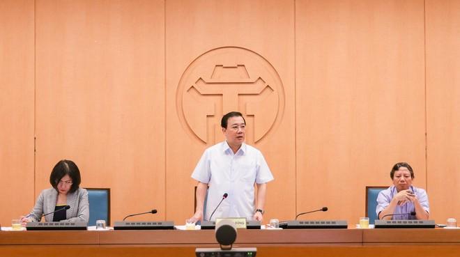 """Phòng chống Covid-19 tại Hà Nội: """"Chủ quan, lơ là sẽ dẫn đến hậu quả rất lớn"""" ảnh 1"""
