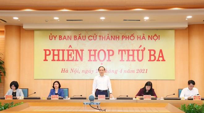 Hà Nội: 37 người đủ tiêu chuẩn ứng cử ĐBQH, 160 người ứng cử đại biểu HĐND TP ảnh 2