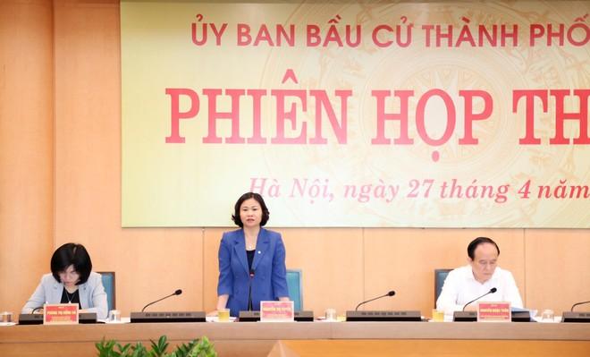 Hà Nội: 37 người đủ tiêu chuẩn ứng cử ĐBQH, 160 người ứng cử đại biểu HĐND TP ảnh 1