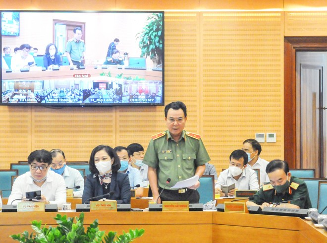 Công an Hà Nội mở cao điểm tấn công, trấn áp tội phạm, đảm bảo an ninh cho cuộc bầu cử sắp tới ảnh 1