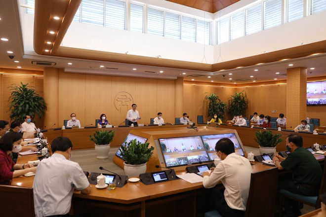 """Bí thư Thành ủy Hà Nội: Nhân rộng mô hình cách ly 3 lớp, vừa an toàn vừa """"không ngăn sông cấm chợ"""" để dập dịch ảnh 2"""