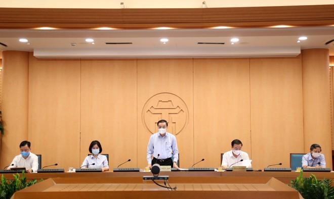 Chủ tịch Hà Nội: Nếu tiếp tục có F0 từ nguồn lây Giám đốc Hacinco, sẽ giao Công an lập hồ sơ xử lý ảnh 1