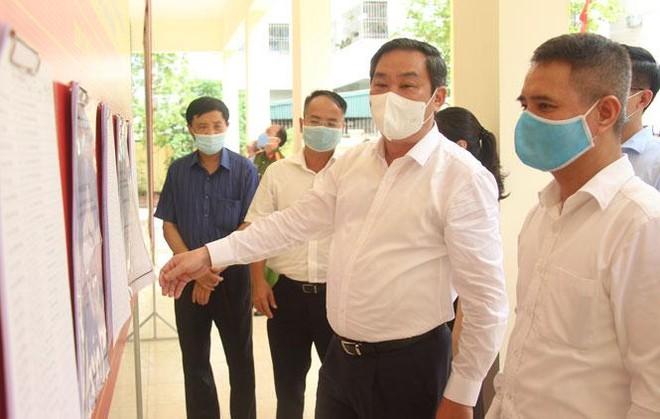 Phó Chủ tịch Thường trực UBND TP Hà Nội kiểm tra công tác sẵn sàng cho ngày bầu cử ở quận Hà Đông ảnh 1