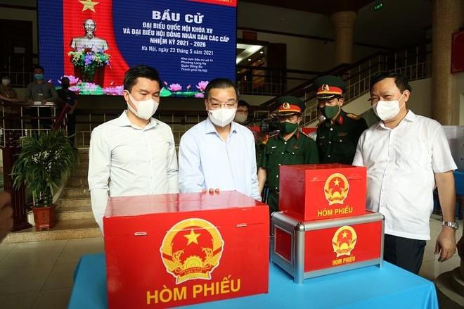 Chủ tịch Hà Nội ban hành công điện hỏa tốc chỉ đạo đảm bảo tuyệt đối an toàn ngày bầu cử ảnh 1
