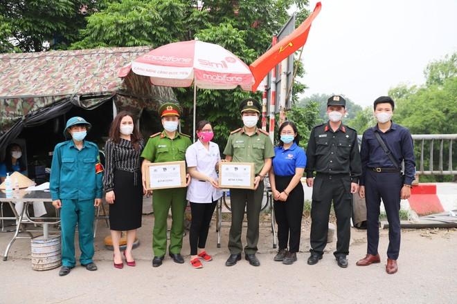 Tuổi trẻ Công an Hà Nội và lời chào quyết thắng Covid-19 của công an tỉnh Bắc Giang ảnh 4