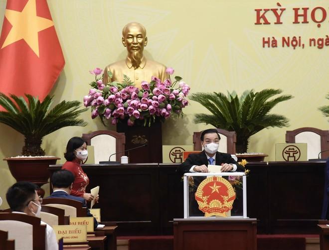 Ông Chu Ngọc Anh được bầu làm Chủ tịch UBND TP Hà Nội nhiệm kỳ 2021-2026 ảnh 1