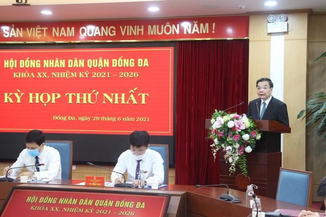 """Chủ tịch Hà Nội yêu cầu phải có giải pháp đột phá thực hiện thành công """"mục tiêu kép"""", đảm bảo đời sống nhân dân ảnh 1"""