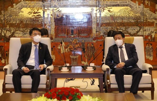Thứ trưởng Bộ Đất đai, Cơ sở hạ tầng và Giao thông Hàn Quốc tin tưởng triển vọng hợp tác song phương với Hà Nội ảnh 1