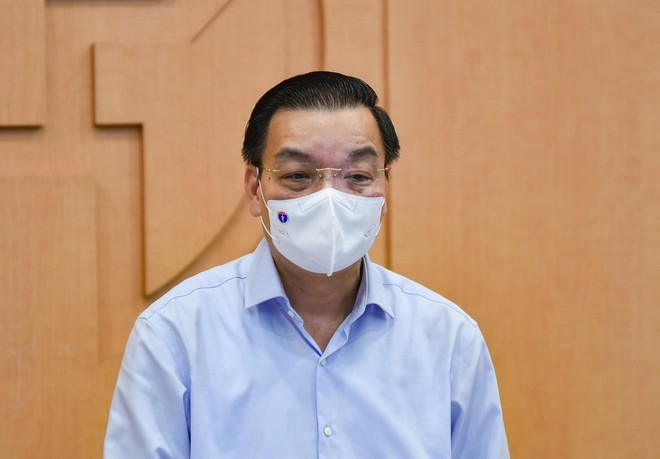 Chủ tịch Hà Nội: Xây dựng kịch bản tiêm vaccine Covid-19 theo đúng quy trình an toàn của Bộ Y tế ảnh 1