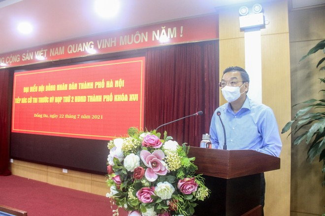 Chủ tịch Hà Nội trả lời cử tri về việc tiêm vaccine Covid-19 ảnh 1