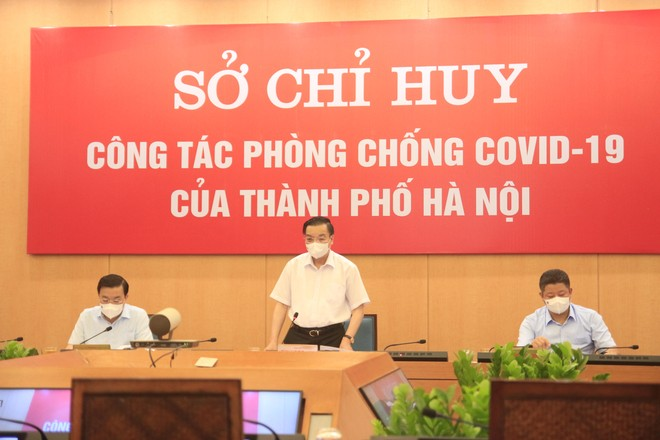 Hà Nội: TP chỉ đạo xử phạt nghiêm người ra đường không vì mục đích thiết yếu ảnh 1