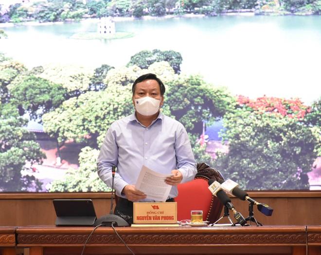 """Phó Bí thư Thành ủy Hà Nội: """"Thành phố chuẩn bị chu đáo mọi mặt, người dân yên tâm chung tay chống dịch"""" ảnh 1"""
