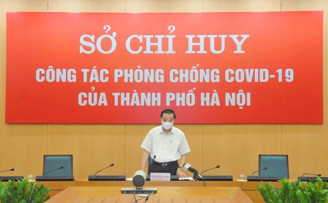 """Chủ tịch Hà Nội: """"Sẽ xử lý nghiêm cơ quan, đơn vị, tập đoàn khối Trung ương vi phạm giãn cách xã hội"""" ảnh 1"""