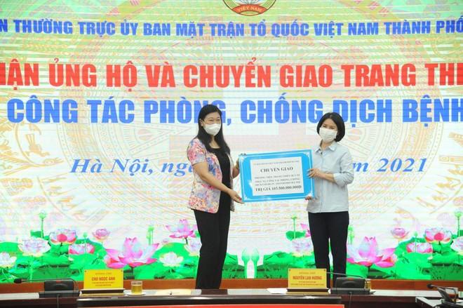 Chủ tịch Hà Nội: Sự chung tay của nhân dân, doanh nghiệp là nguồn động viên, tiếp sức quý báu để phòng chống Covid-19 ảnh 3