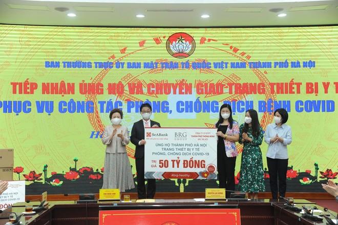 Chủ tịch Hà Nội: Sự chung tay của nhân dân, doanh nghiệp là nguồn động viên, tiếp sức quý báu để phòng chống Covid-19 ảnh 1