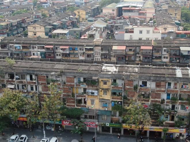 Hà Nội dành 500 tỷ đồng để cải tạo chung cư cũ trong giai đoạn 2021-2025 ảnh 1
