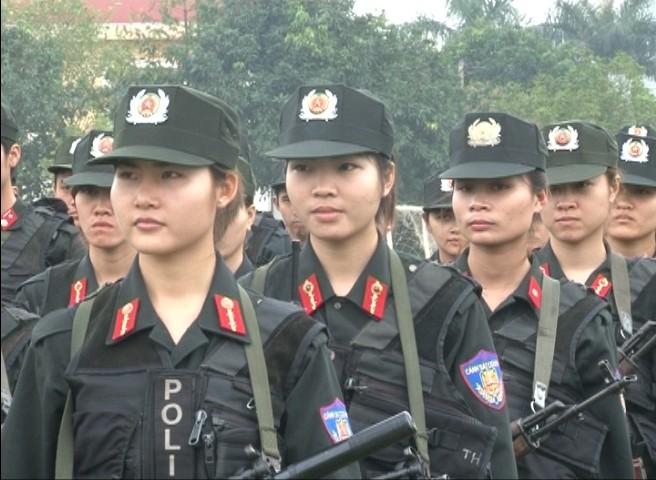 Lực lượng Cảnh sát Cơ động ứng trực, sẵn sàng chiến đấu ảnh 3