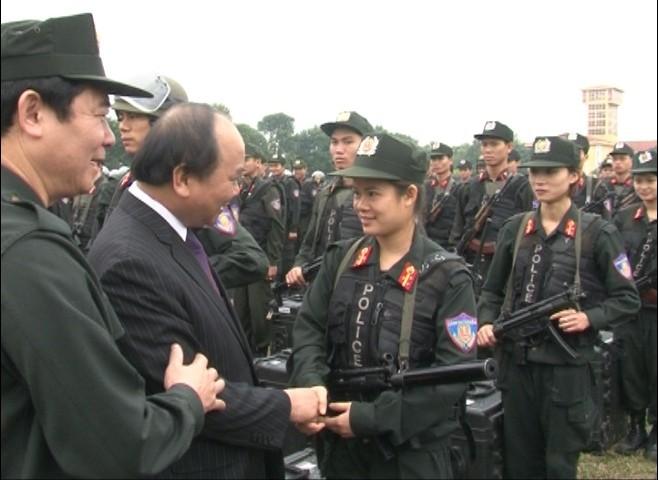 Lực lượng Cảnh sát Cơ động ứng trực, sẵn sàng chiến đấu ảnh 4