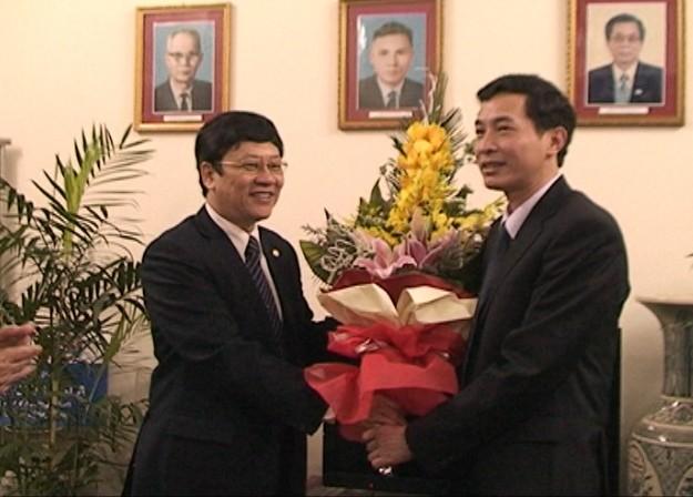 CATP Hà Nội chúc mừng các đơn vị y tế nhân ngày Thầy thuốc Việt Nam ảnh 4