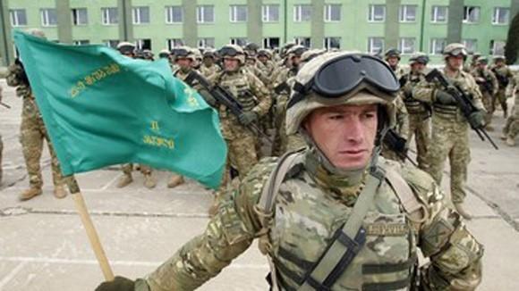 "Mỹ - Gruzia diễn tập thực binh ""Agile Spirit-2013"" ảnh 2"