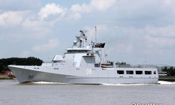 Tàu chiến của Hải quân Ấn Độ và Brunei thăm Thái Lan ảnh 1