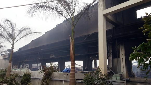 Vụ cháy tại công ty Hà Phong lớn nhất Bắc Giang từ trước tới nay ảnh 1