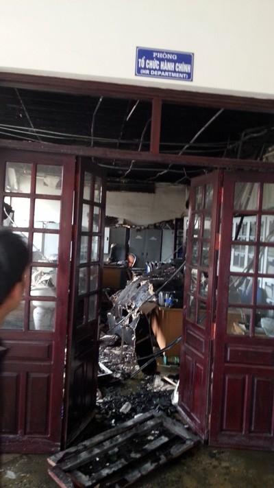 Vụ cháy tại công ty Hà Phong lớn nhất Bắc Giang từ trước tới nay ảnh 5