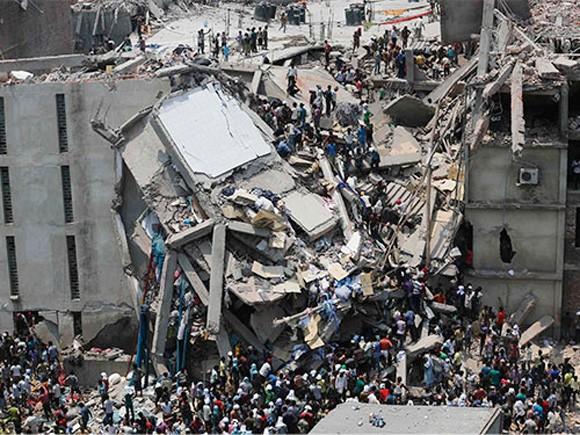 Sập tòa nhà 8 tầng, ít nhất 70 người thiệt mạng. ảnh 1