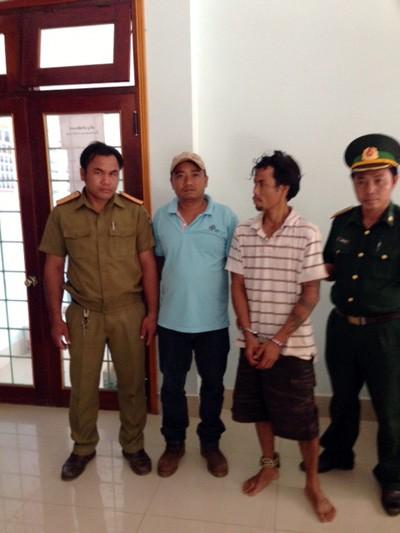 Truy bắt đối tượng giết người trốn truy nã trên đất Lào ảnh 2
