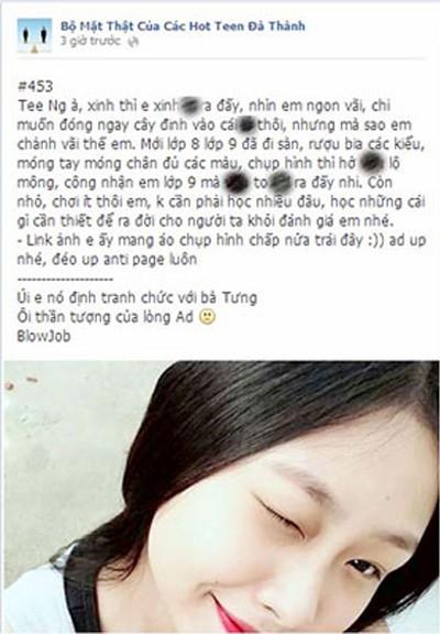 Cái chết của một nữ sinh - lời cảnh báo về trò đùa trên facebook ảnh 4