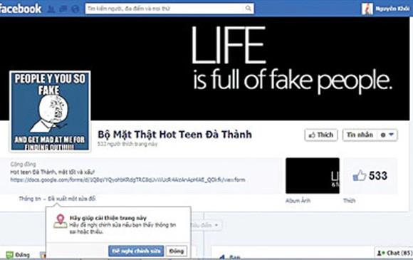 Cái chết của một nữ sinh - lời cảnh báo về trò đùa trên facebook ảnh 3