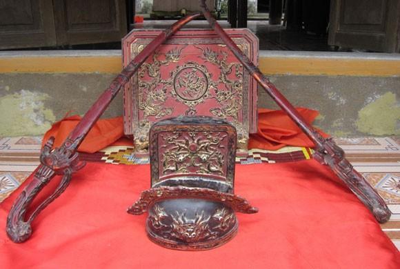 Phát hiện chiếc mũ Quan Võ Đại triều thời Lê ở Hà Tĩnh ảnh 1