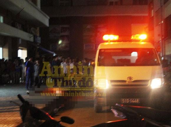 Kinh hoàng nam sinh viên nhảy tầng 12 chung cư tử vong ảnh 2