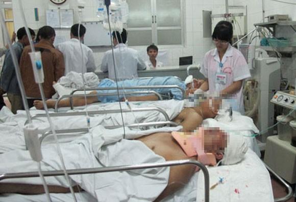 Tai nạn lao động, 3 công nhân nguy kịch ảnh 2