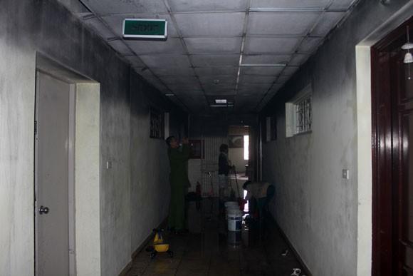 Cháy tại toà nhà I9 Thanh Xuân Bắc, 1 người bị thương nặng ảnh 2